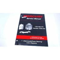 90-897928700 Mercury Service Manual Attachments&Power Steering 135-175 HP Verado