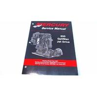 90-881986 Mercury Service Manual 200 OptiMax Jet Drive