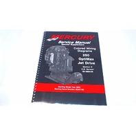 90-888438 Mercury Service Manual Colored Wiring Diagrams 250 OptiMax Jet Drive
