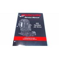 90-888438 Mercury Service Manual 250 OptiMax Jet Drive Model Year 2002