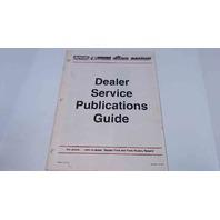 SIS-509 Mercury Dealer Service Publications Guide