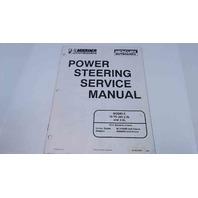 90-852429R1 Mercury Mariner Power Steering Service Manual Models 70-200 HP 2.5L