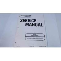90-858804 Mercury Marine Service Manual Model 120XR Sport Jet