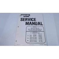 90-831996R1 Mercury Marine Service Manual Models 1995-97 90/95XR/120/120XR SportJet