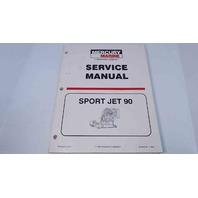 90-824724 Mercury Marine Service Manual Sport Jet 90