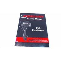 90-857138R02 Mercury Service Manual 4/5/6 HP FourStroke Model Year 1999