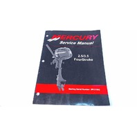 90-899925 Mercury Service Manual 2.5/3.5 HP Four Stroke Serial # 0R131842