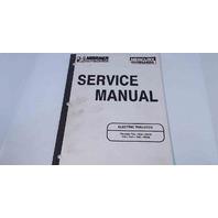 90-816427 Mercury Mariner Service Manual Electric Thruster