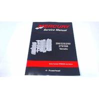 90-896580401 Mercury Service Manual Powerhead 200/225/250/275/300 HP Verado