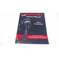 90-857138R1 Mercury Service Manual 4/5/6 FourStroke Model Year 1999 & Newer