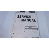 90-827857R1 Mercury Mariner Service Manual 8/9.9 HP 4 Stroke