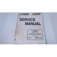 90-826883R2 Mercury Mariner Service Manual 20JET/20/25/25Marathon/25 SeaPro