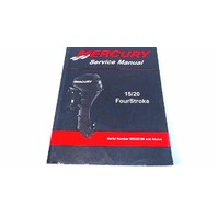 90-899987 Mercury Service Manual 15/20 HP FourStroke