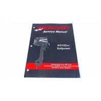 90-17308R02 Mercury Service Manual 4/5 HP 102cc Sailpower