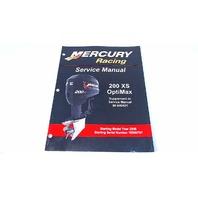 90-840421 Mercury Racing Service Manual 200 XS OptiMax Model Year 2006