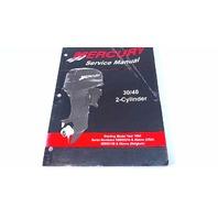 90-826148R03 Mercury Service Manual 30/40 HP 2 Cyl Model Year 1994