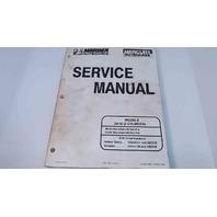 90-826148R2 Mercury Mariner Service Manual 30/40 2 Cylinder
