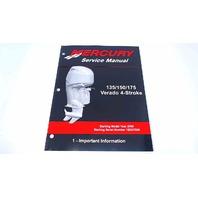 90-897928100 Mercury Service Manual Important Information 135-175 HP Verado