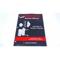90-897928200 Mercury Service Manual Electrical System 135-175 HP Verado 4 Stroke
