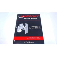 90-897928300 Mercury Service Manual Fuel System 135-175 HP Verado 4 Stroke