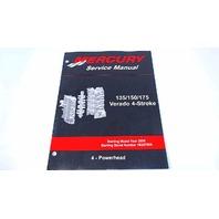 90-897928400 Mercury Service Manual Powerhead 135-175 HP Verado 4 Stroke