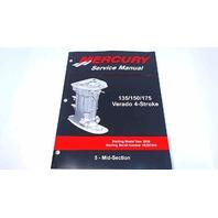 90-897928500 Mercury Service Manual Mid-Section 135-175 HP Verado 4 Stroke
