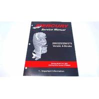 90-896580100 Mercury Service Manual Important Information 200-275 Verado 4Stroke