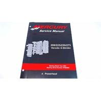 90-896580400 Mercury Service Manual Powerhead 200-275 HP Verado