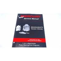 90-896580700 Mercury Service Manual 200/225/250/275 HP Verado 4 Stroke