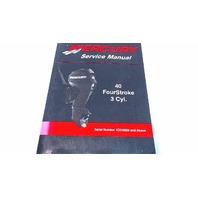90-899974 Mercury Service Manual 40 HP FourStroke 3 Cylinder