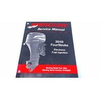 90-883064R02 Mercury Service Manual 30/40 HP FourStroke EFI