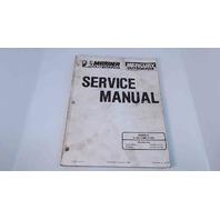 90-97658 Mercury Mariner Service Manual V-135 Thru V-225