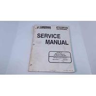 90-854785R1 Mercury Mariner Service Manual 25 BigFoot 4 Stroke Serial# 0G590000
