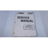 90-855348R1 Mercury Mariner Service Manual 200/225 HP OptiMax Direct Fuel Injection