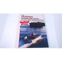 B783 Yamaha Outboard 1984-89 Shop Manual 2-225 HP (Includes Jet Drive)