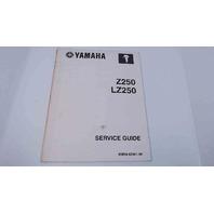 90894-62941-59 Yamaha Outboard Service Manual Z250 / LZ250