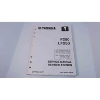 6P2-28197-1H-11 Yamaha Service Manual Revised Edition F250 / LF250