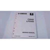 6P2-28197-1G-11 Yamaha Service Manual F250D / LF250D