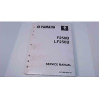 6BR-28197-1L-11 Yamaha Service Manual F250B / LF250B