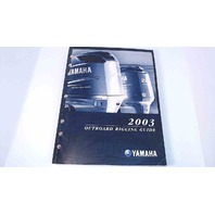 Yamaha 2003 Outboard Rigging Guide
