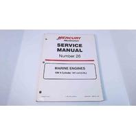 90-861329-1 MerCruiser Service Manual #26 GM 4 Cylinder 181 CID (3.0L)