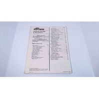 90-860169970 MerCruiser Gasoline Engines Alpha Models Manual