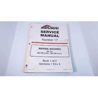 90-823225-1 MerCruiser Service Manual #17 Book 1 of 2 GM V8 305 CDI/350 CID