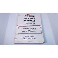 90-823224-2 MerCruiser Service Manual #16 Book 2 of 2 GM V8 454 CID/502 CID