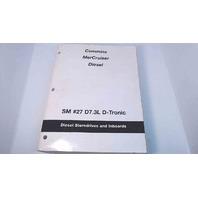 90-861784-1 Cummins MerCruiser Diesel D7.3L D-Tronic Diesel Sterndrives&Inboards