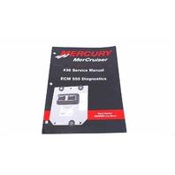 90-864573 Mercury MerCruiser Service Manual #36 ECM 555 Diagnostics