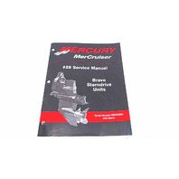 90-863160 Mercury MerCruiser Service Manual #28 Bravo Sterndrive Units