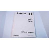 LIT-18616-02-61 Yamaha Service Manual F25C / T25C