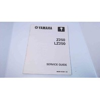 90894-62941-59 Yamaha Outboard Service Guide Z250 / LZ250
