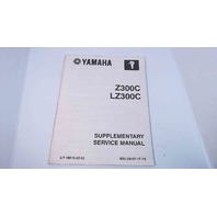 6D0-28197-1F-1X Yamaha Supplementary Service Manual Z300C/LZ300C